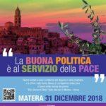 Convegno Nazionale di Pax Christi (Santeramo) e Marcia di fine anno a Matera