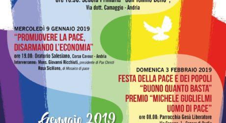 gennaio/febbraio 2019, Andria – Sentieri di Pace