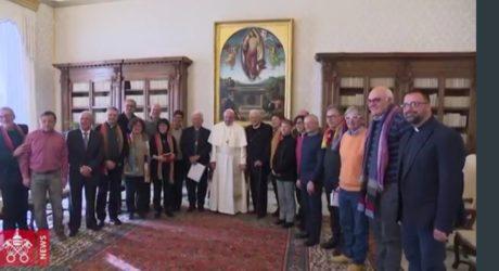 Papa Francesco riceve in udienza privata il Consiglio Nazionale di Pax Christi