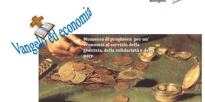 8 maggio, Bologna – Veglia Vangelo ed Economia