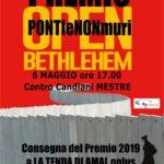 """IL PREMIO PONTI E NON MURI 2019 A """"LA TENDA DI AMAL"""""""