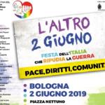 2 giugno, Bologna –  L'altro 2 giugno, Festa dell'Italia che Ripudia la Guerra