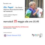 Punto Pace Bologna – Obiezione alla produzione bellica