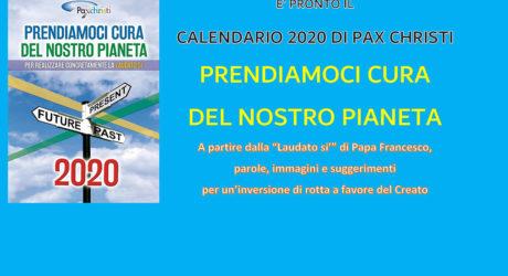 Calendario Pax Christi 2020