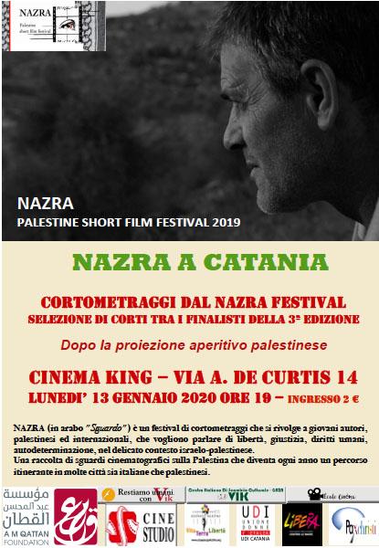 Film palestinesi a Catania