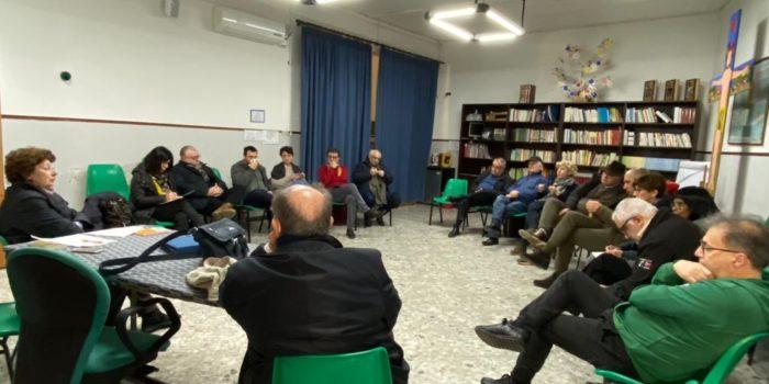Coordinamento sud a Portici (Napoli) il 16 febbraio 2020