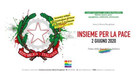 Verso la Marcia Perugia-Assisi: Insieme per la pace 2 giugno 2020