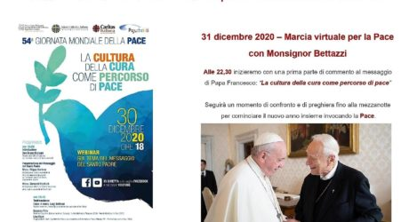 Marcia virtuale per la Pace