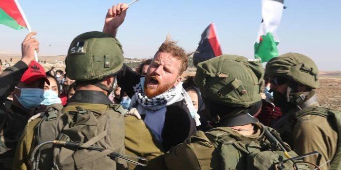 Arrestato Sami, giovane  leader della resistenza nonviolenta  del popolo palestinese.