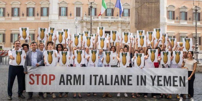 Il Governo Italiano blocca  l'export di bombe verso Arabia Saudita ed Emirati Arabi