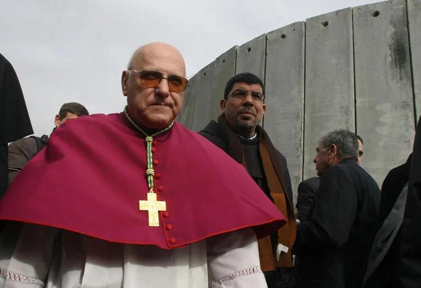 """Patriarca emerito di Gerusalemme : L'America """"non si preoccupa di ciò che accadrà"""" ai cristiani palestinesi"""