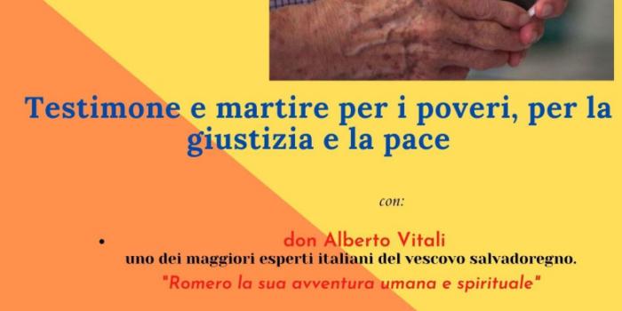 Punto pace di Bologna – Santo Oscar Romero Testimone e martire per i poveri, per la giustizia e la pace