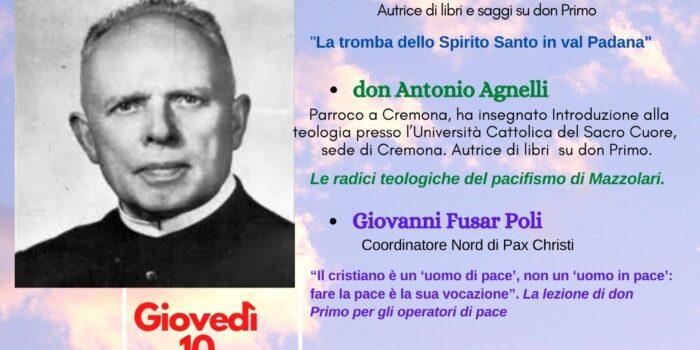 Punto pace di Bologna – don Primo Mazzolari: precursore della chiesa in uscita